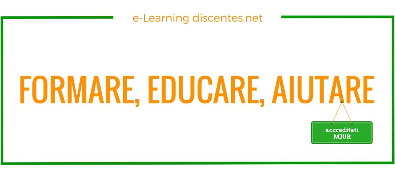 formare, aiutare, educare